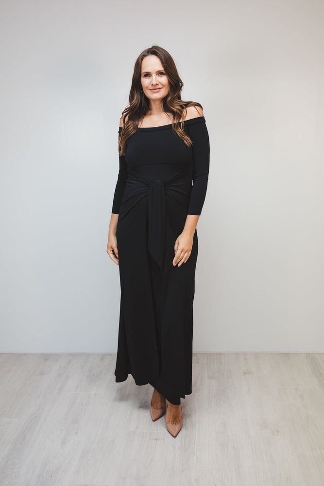 Bump to Baby Magical Maxi Dress - Black