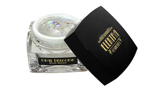 Glitter gel for face, body and hair.