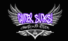 CANCER SUCKS! Wings Tank Top