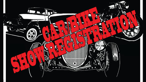 15TH ANNUAL HANDLEBARS & HOT RODS SHOW REGISTRATION