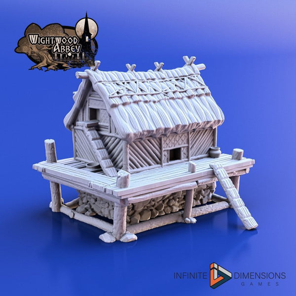 Printed Wightwood Abbey Chicken Coop