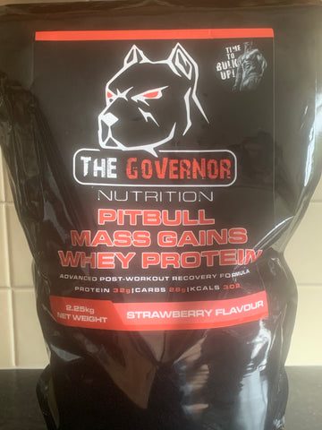 PITBULL MASS GAINS WHEY PROTEIN