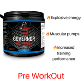 The Governor Pre Work Out™-The Governor Sports and Nutrition