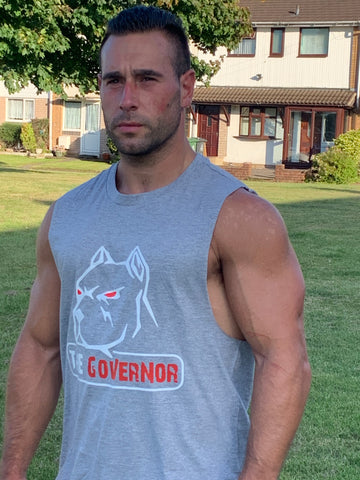 The Governor sleeveless T-shirt