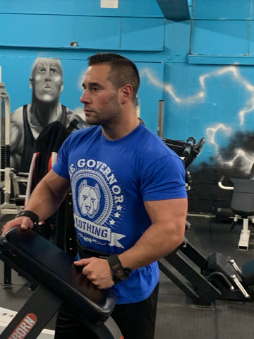 The Governor Limited Edition Short sleeve-The Governor Sports and Nutrition