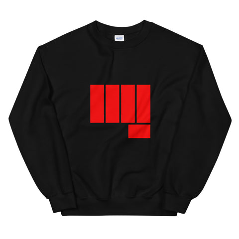 Red Knuckle Sweat Shirt