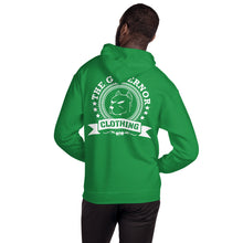 Load image into Gallery viewer, The Governor Unisex Front and Rear Printed Hoodie