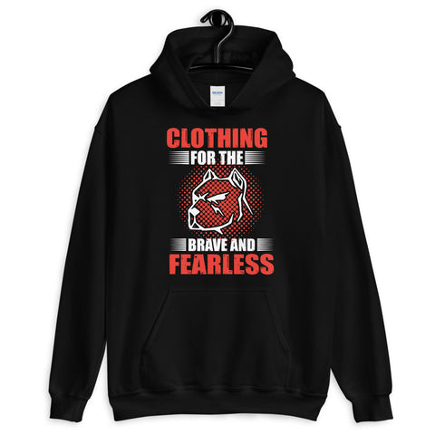 'Clothing For the Brave And Fearless' -Unisex Hoodie-The Governor Sports and Nutrition