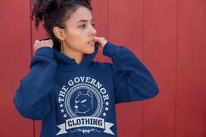 The Governor Limited Edition Font Printed Hoodie