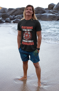 Brave And Fearless  Short Sleeve Unisex T-Shirt