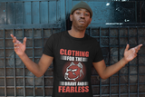 Brave And Fearless Short Sleeve Unisex T-Shirt-The Governor Sports and Nutrition