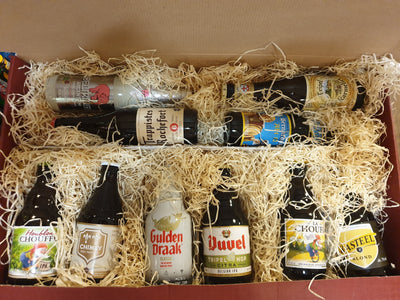 Belgium Craft Beer Hamper -Then of the finest Belgium craft beers
