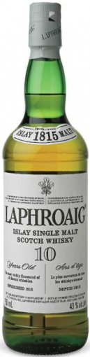 laphroaig 10 year old islay single malt scotch whiskey