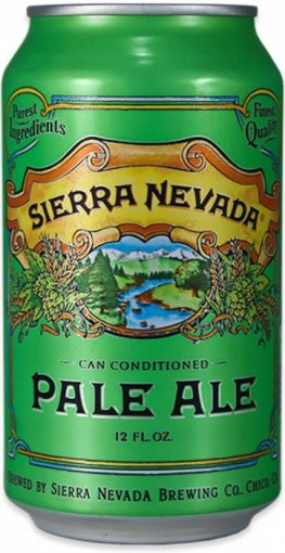 sierra nevada pale ale can