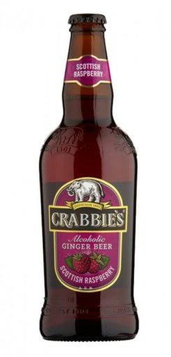 crabbie's original alcoholic ginger beer raspberry