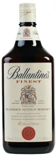ballantines finest blended scotch whiskey