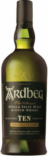 ardbeg 10 year old single islay malt scotch whiskey