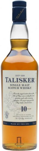 talisker 10 year old single malt scotch whiskey