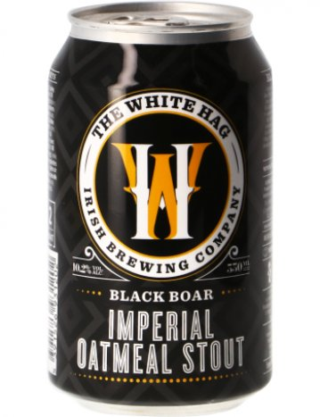 the white hag black boar imperial oatmeal stout