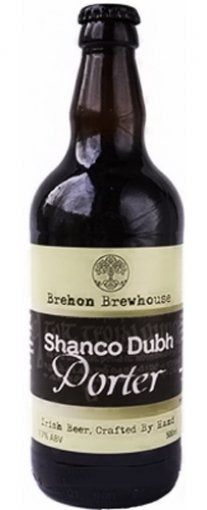 brehon brewhouse shanco dubh porter