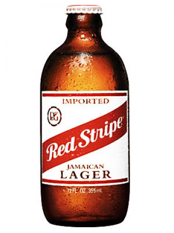 red stripe jamaican lager bottle 33cl