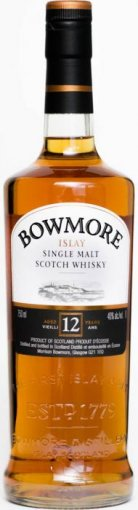 bowmore 12 year old islay single malt scotch whiskey