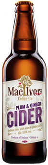 mac ivors plum & ginger cider
