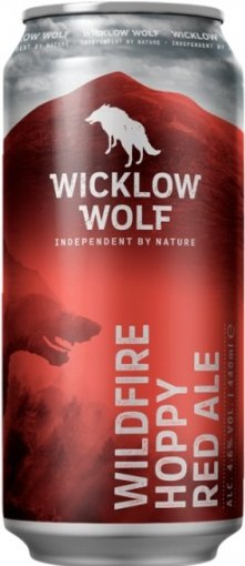 wicklow wolf wildfire hoppy red ale can