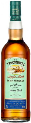 tyrconnell 10 year old sherry finish single malt irish whiskey