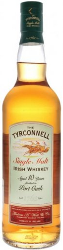tyrconnell 10 year old port finish single malt irish whiskey