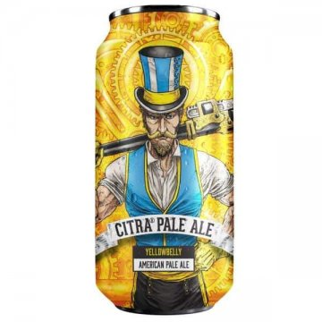 Yellowbelly Citra Pale Ale 4.8% ABV 440ml Can