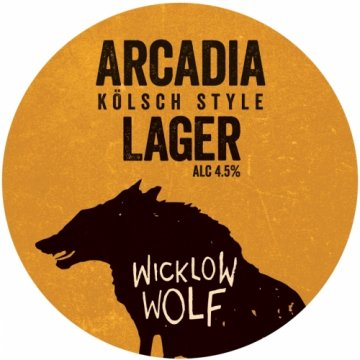 wicklow wolf arcadia lager kolsch can