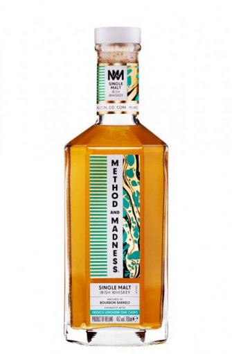 method and madness single malt irish whiskey french limousin oak