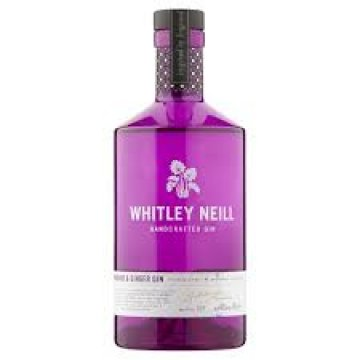 whitley neill rhubarb and ginger gin