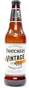 thatcher's oak aged vintage 2017 english cider