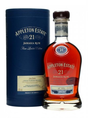 appleton estate aged 21 years jamaica rum rare limited edition