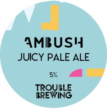 Trouble Brewing - Ambush Juicy Pale Ale 5% ABV 440ml Can