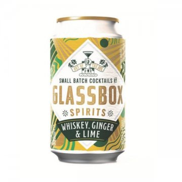 Glassbox Spirits Whiskey, Ginger & Lime Premix