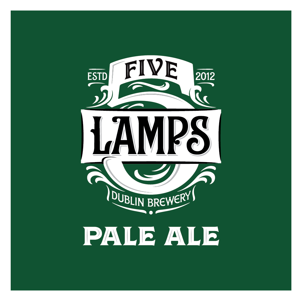 Five Lamps - Pale Ale 4.8% ABV 500ml Bottle