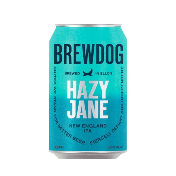 Brewdog - Hazy Jane New England IPA 330ml Can 5.0% ABV