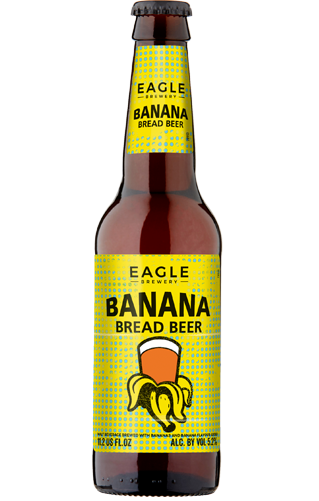 Eagle Brewery Banana Bread Beer (formally branded as Well's Brewery)