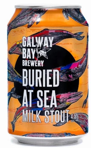 Galway Bay Buried at Sea Chocolate Milk Stout Can