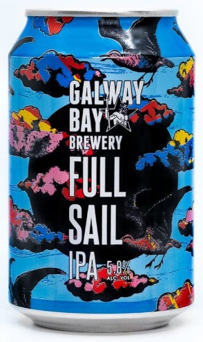 Galway Bay Brewery Full Sail IPA Can