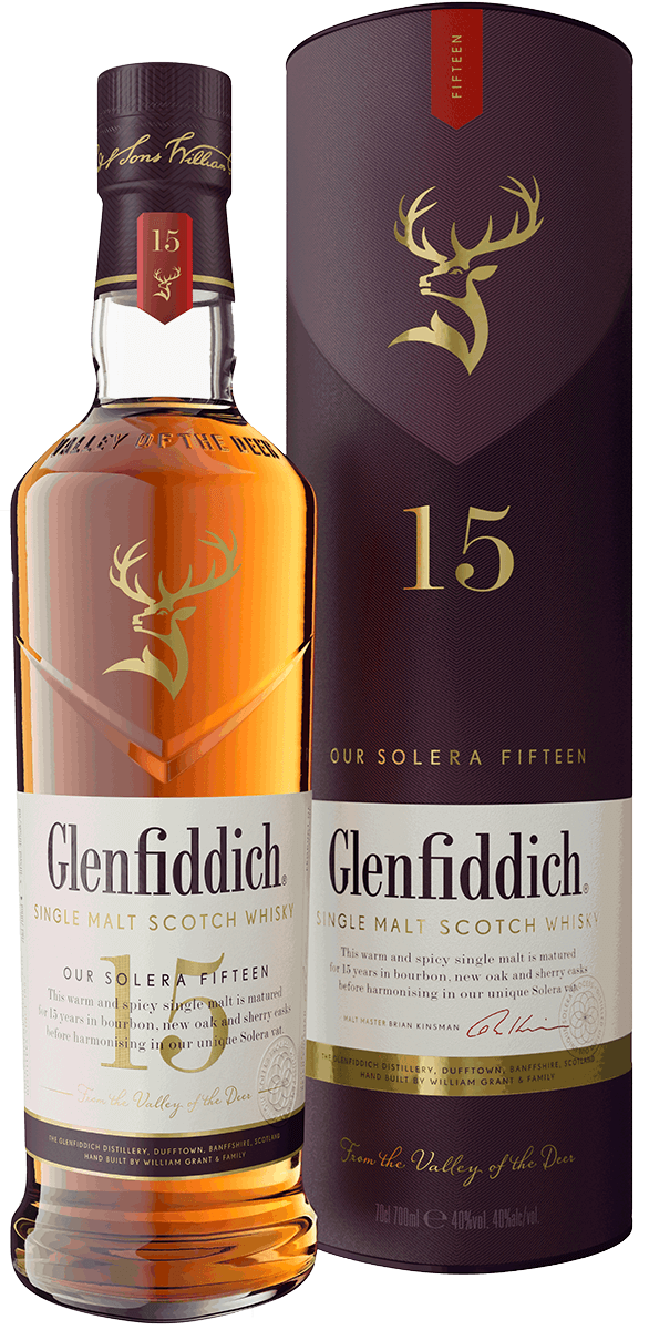 glenfiddich distillery 15yr single malt solera