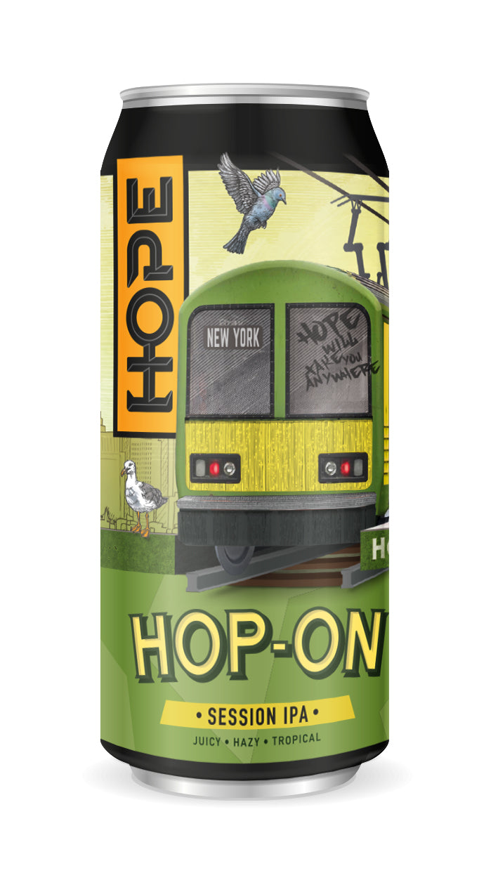 hope beer hop-on session ipa