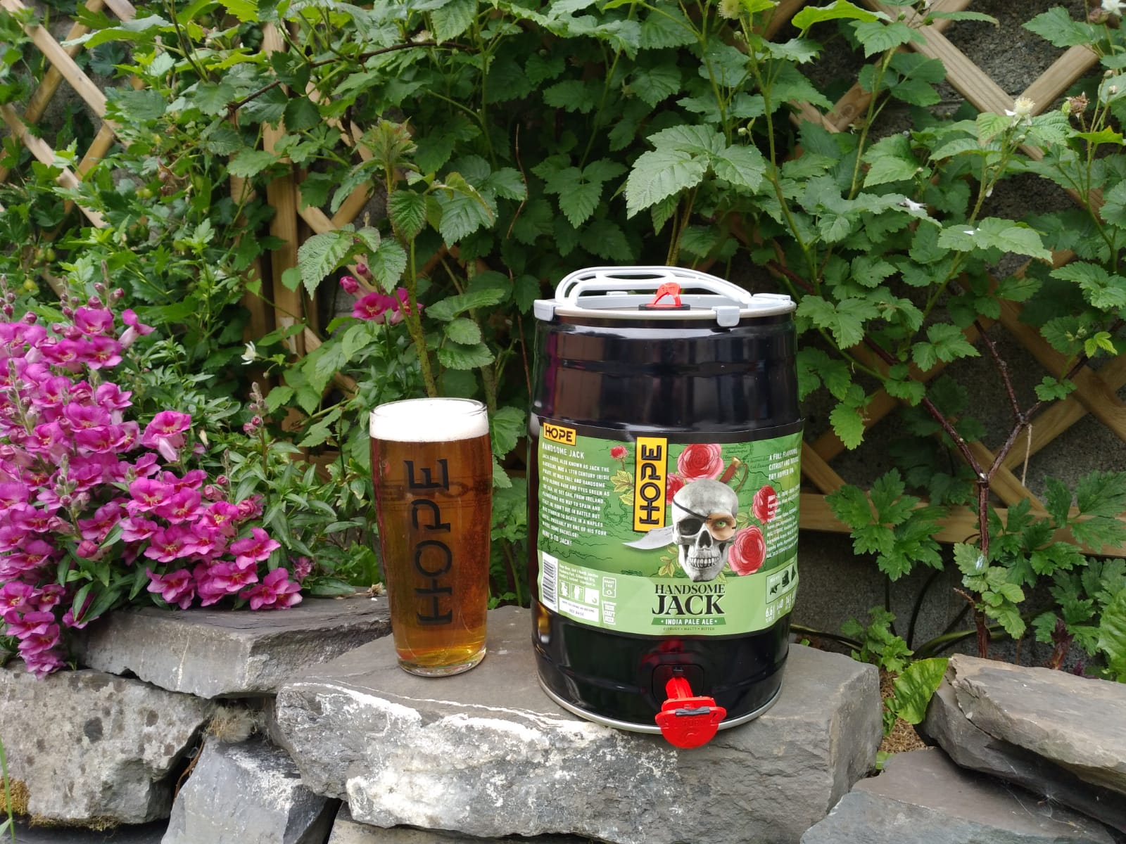 Hope Beer Handsome Jack IPA 6.6% ABV 5 Litre Mini Keg