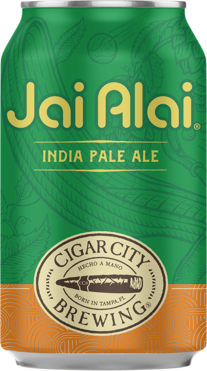 Cigar City Brewing - Jai Alai IPA 7.5% ABV 355ml Can