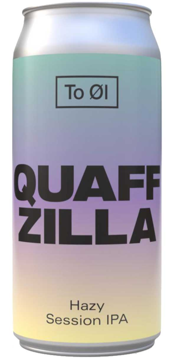 Martins Off Licence To Øl - Quaffzilla Session IPA 4.7% ABV 440ml Can