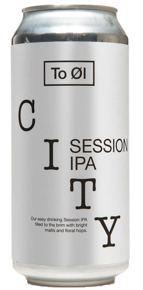 TO ØL City Session IPA 4.5% ABV 440ml Can