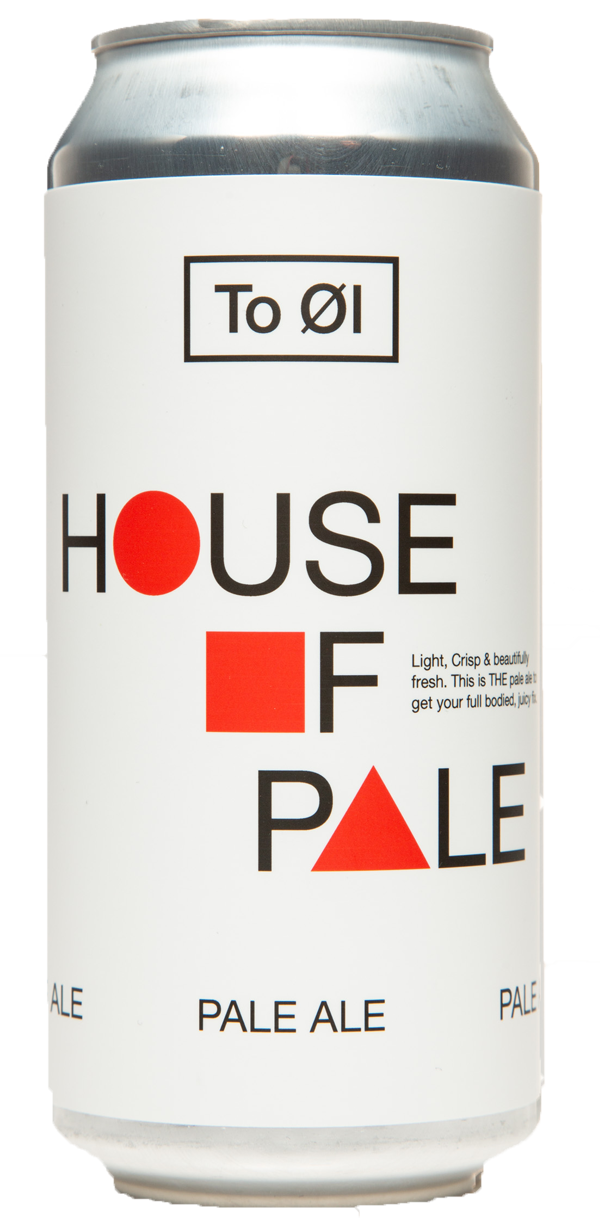 TO ØL House of Pale 5.5% ABV 440ml Can
